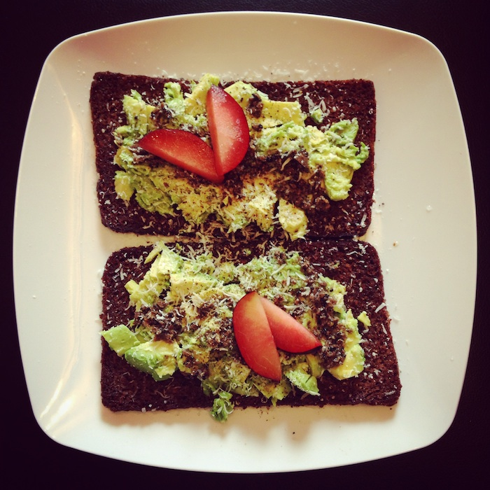 Avocado Toast with Black Truffle Butter