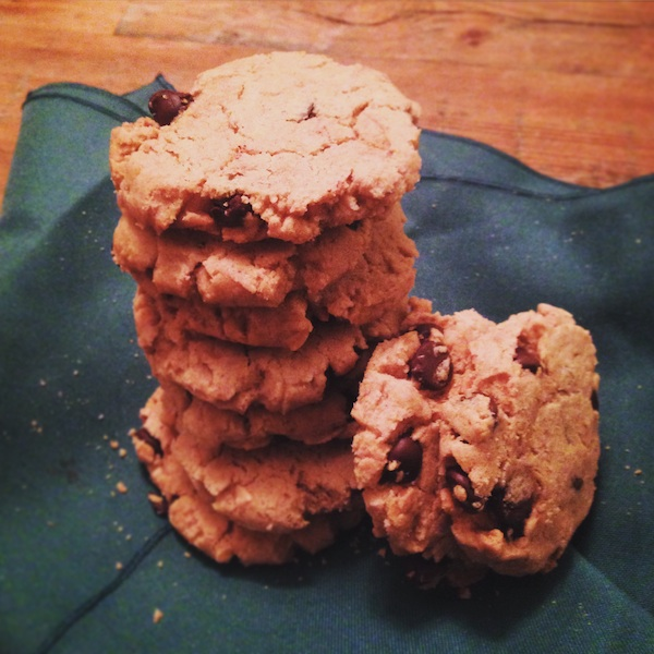 GFV Peanut Butter Chocolate Chips Cookies