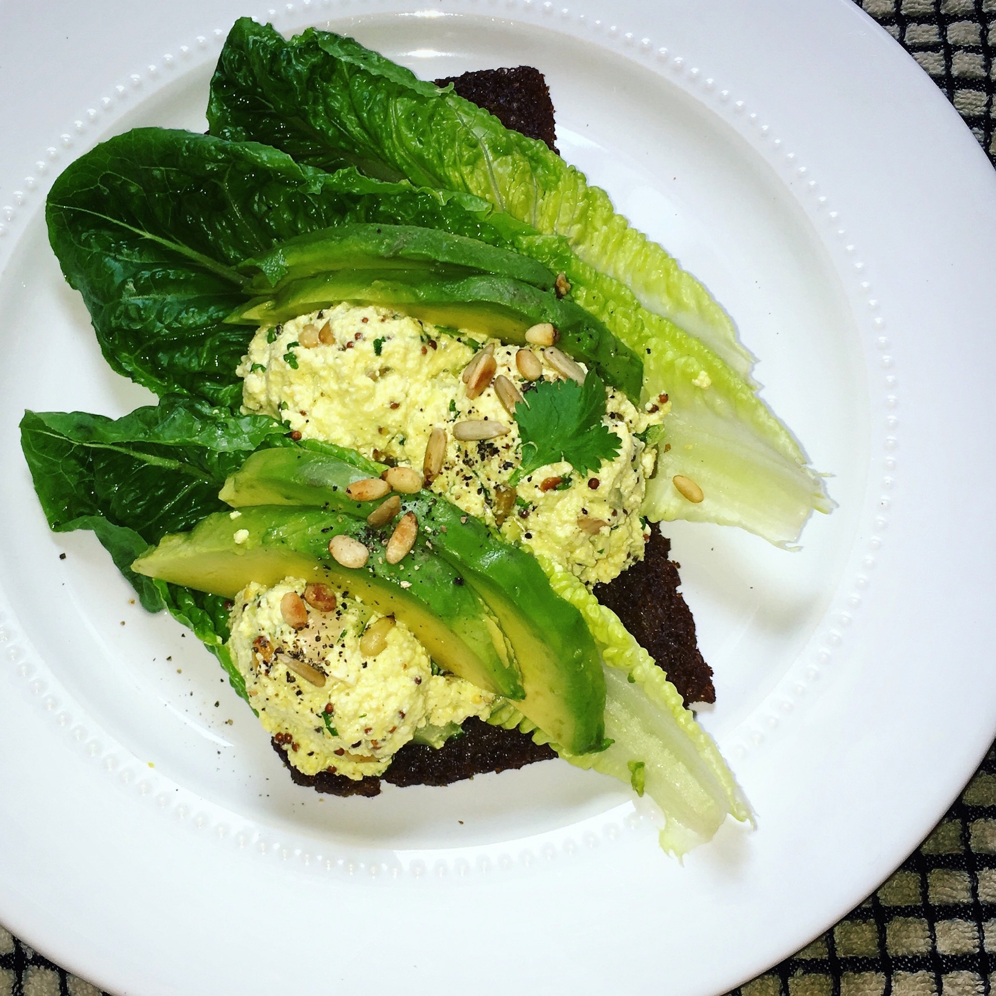 "Tofu ""No-Egg"" Salad"
