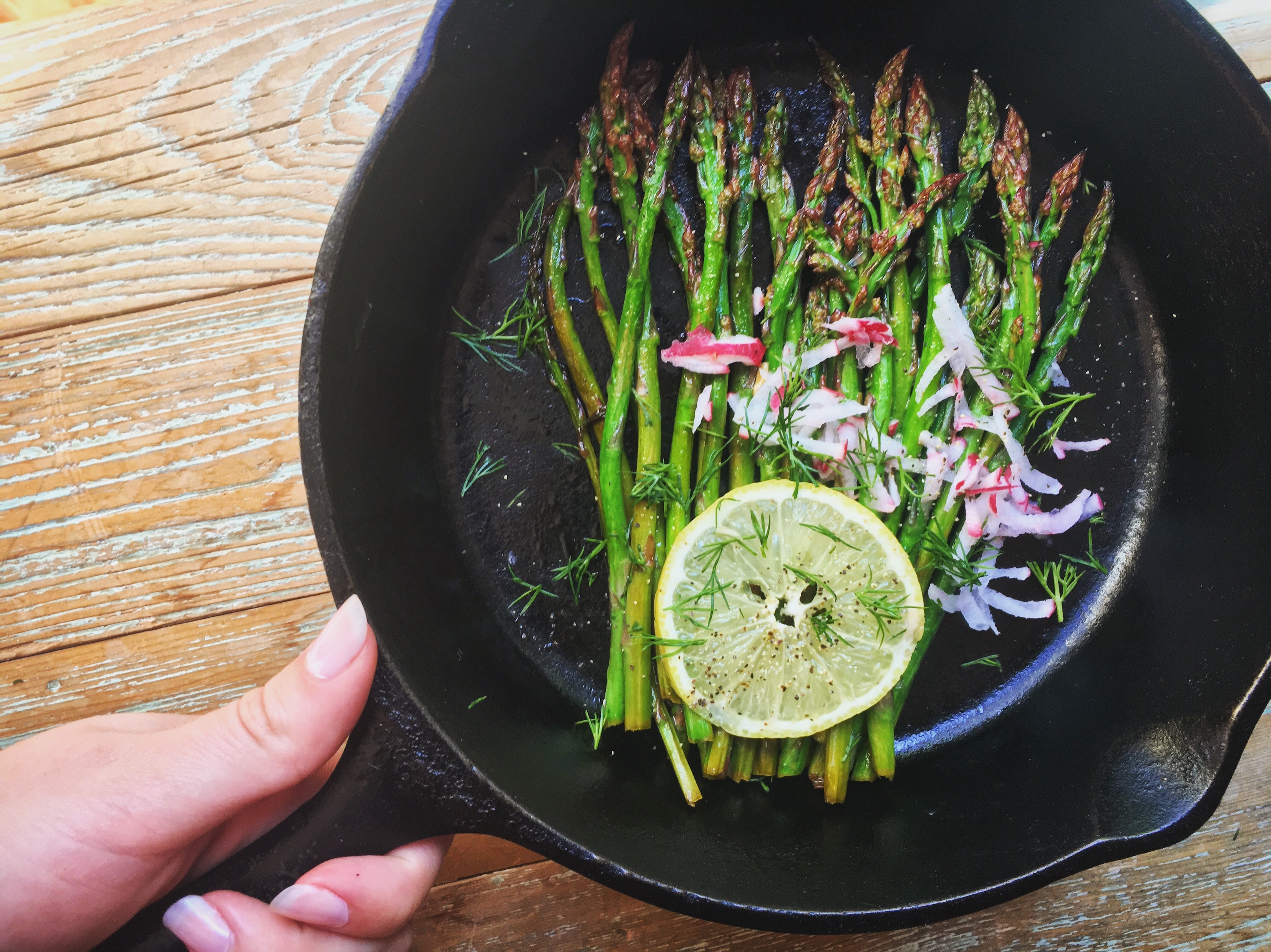 Lemon and Dill Asparagus